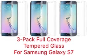 3-Pack HD Full Cover Tempered Glass Screen Protector For Samsung Note 9/S9/S8+