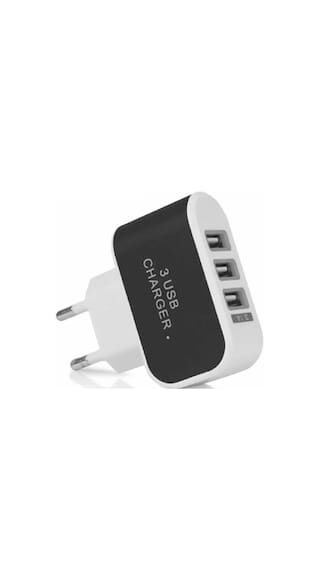 3 port USB charger 2A EU portable charger adapter connected to the battery charger iPhone 5 6 7S Samsung LG mobile phone & Other SmartPhones