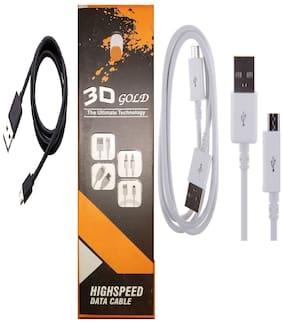 PickMart Data & Charging Mini USB Cable ( 1-1.5m , Assorted )