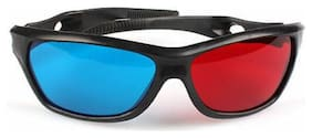 3D Vision Red Blue Cyan 3D Glasses Plastic Frame  Dimensional Anaglyph Movie new
