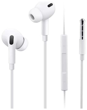 3SMART Pro Desige In-Ear Wired Headphone ( White )