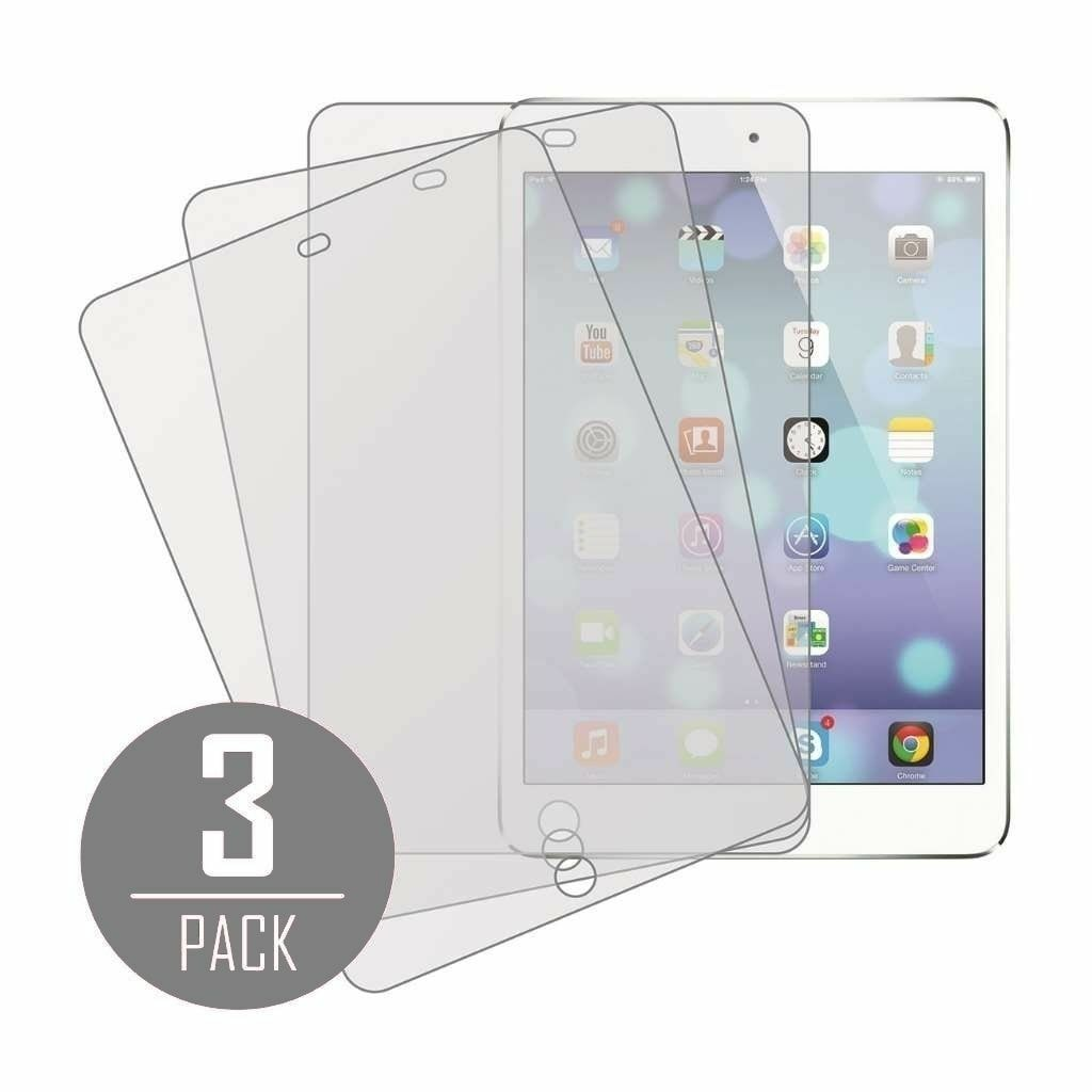 3X Clear LCD Protector Screen Cover for Apple iPad Mini 1 2 3 4 Air Pro 9.7 by Stelcore
