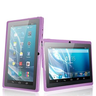 7 A33 Android 4.4 HDMI Tablet PC Quad Core WiFi CAMERA 4G US PURLE HOT
