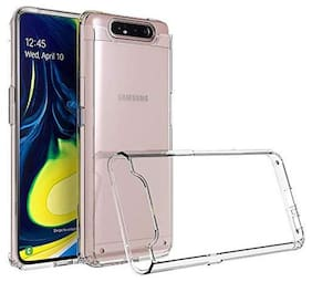 91 Avilook Transparent Back Cover For Samsung A80