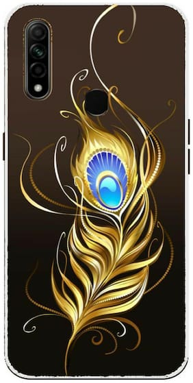 9T9 Online Silicone Back Cover For Oppo A31 ( Multi )