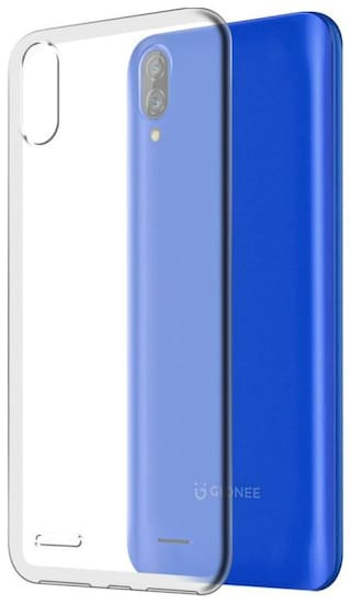 9T9 ONLINE Transprint Back Cover For Gionee Max Transparent