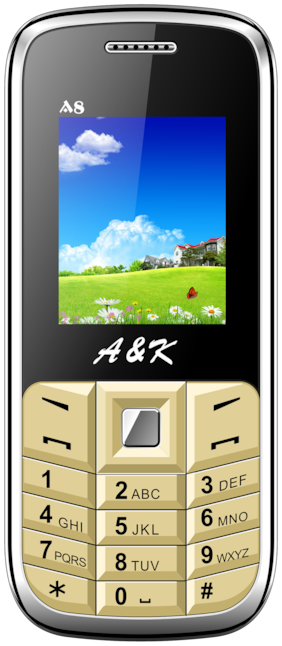 A&K A 8 (Black & Golden)