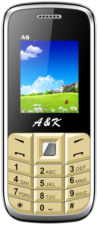 A&K A 8 (Black & Gold)