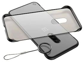 Polycarbonate Back Cover For OnePlus 6T ( Black )