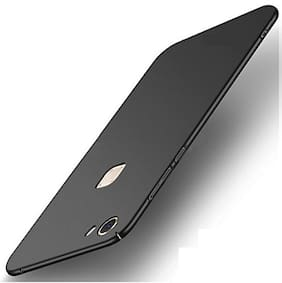 A rtistque Silk Smooth Finish Full Coverage Slim Back Case Cover For Vivo Y83 Pro  - Black