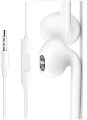 A1Quality In-Ear Wired Headphone ( White )