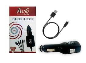 AACEINLIFE Car Charger - 1 USB Port With Micro USB Cable
