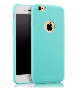 AAFIYA Silicone Back Cover For Apple iPhone 7 ( Green )