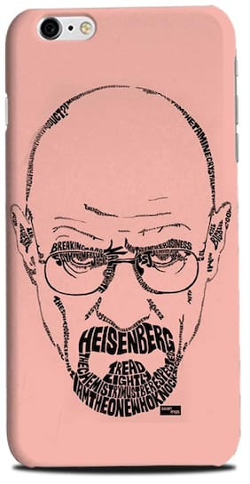 Aaranis designed Iphone 6 Plus Mobile Back cover with perfect Matte Finishing Breaking Bad TV series ( Pink )
