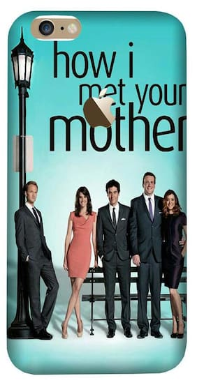 Aaranis designed Iphone 7/7S Mobile Back cover with perfect Matte Finishing How I Met Your Mother TV Series ( Multicolor )