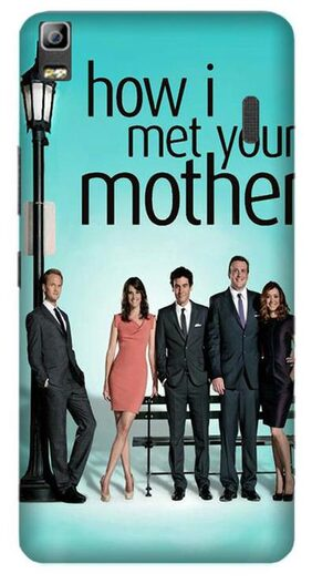 Aaranis designed Lenovo K3 note Mobile Back cover with perfect Matte Finishing How I Met Your Mother TV Series ( Multicolor )