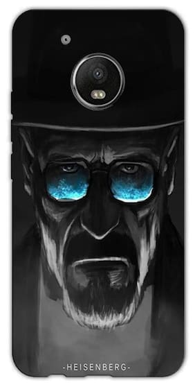 Aaranis designed Moto G5 Plus Mobile Back cover with perfect Matte Finishing Breaking Bad Movies Music TV Series(Multicolor)