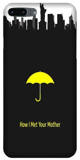 Aaranis designed Iphone 7 Plus Mobile Back cover with perfect Matte Finishing How I Met Your Mother TV Series ( Yellow )