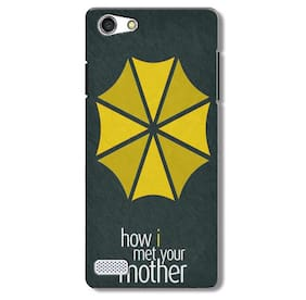 Aaranis designed Vivo X3s Mobile Back cover with perfect Matte Finishing  How I Met Your Mother TV Series(Yellow)