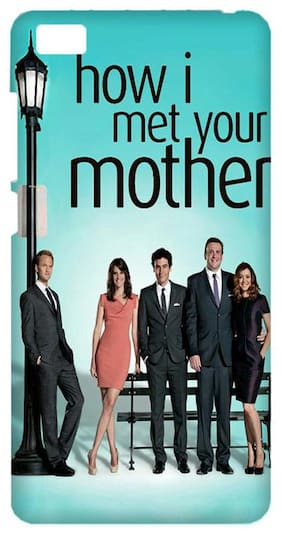 Aaranis designed MI 5 Mobile Back cover with perfect Matte Finishing How I Met Your Mother TV Series ( Multicolor )