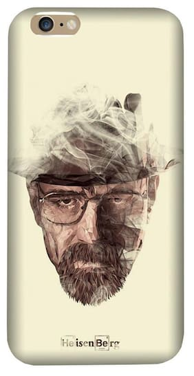 Aaranis designed Iphone 7/7S Mobile Back cover with perfect Matte Finishing Breaking Bad TV series ( Multicolor )