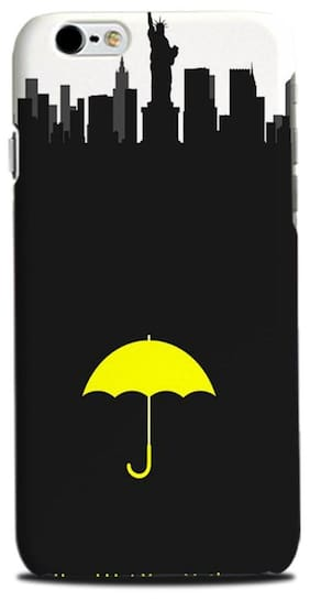 Aaranis designed Iphone 6S Mobile Back cover with perfect Matte Finishing  How I Met Your Mother TV Series(Yellow)