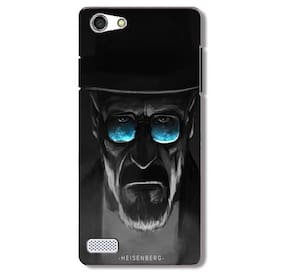 Aaranis designed Oppo Neo 7 Mobile Back cover with perfect Matte Finishing Breaking Bad Movies Music TV Series(Multicolor)