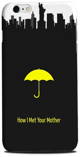 Aaranis designed Iphone 6 Plus Mobile Back cover with perfect Matte Finishing How I Met Your Mother TV Series ( Yellow )