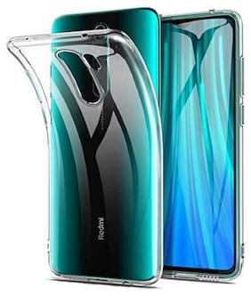Redmi Note 8 Pro Silicone Back Cover By Aartor ( Transparent )