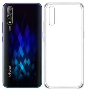 Vivo Z1x Silicone Back Cover By Aartor ( Transparent )