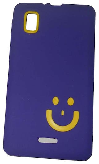 pretty nice 9c13c 9a9be Aashirwad craft Back Cover For Micromax Canvas Doodle 3 A102 (Purple)