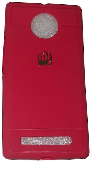 newest 3ee0c f6839 Aashirwad Craft Back Cover For Micromax YU Yunique (Pink)