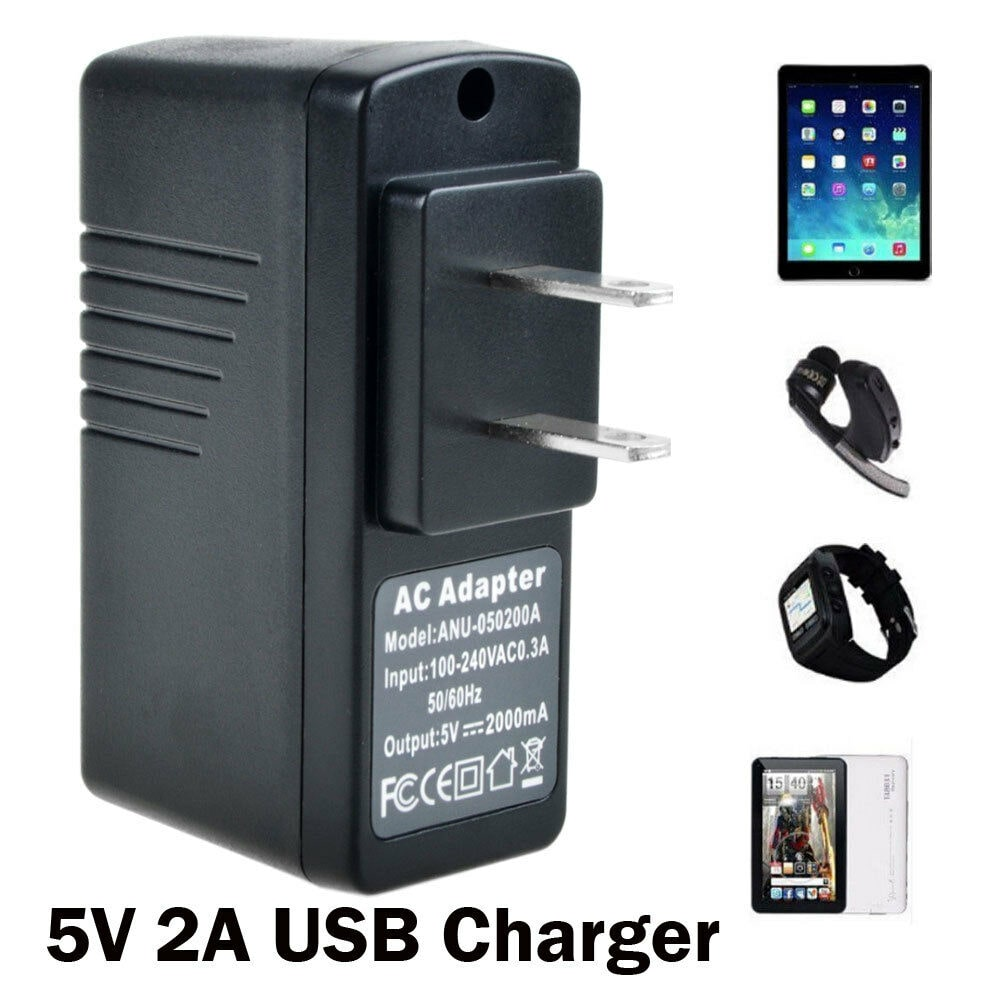 AbleGrid 5V2A USB US plug POWER Travel Charger Adapter mp3 mp4 Cell Mobile phone by Stelcore
