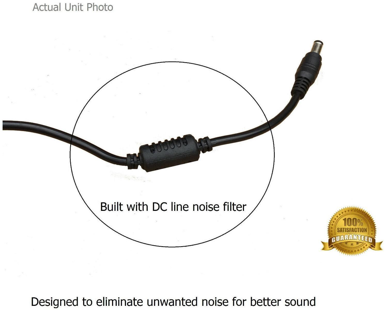 AC Power Adapter for Vox VT40X 40-watt Guitar Modeling Combo Amp