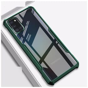 ACCESORIES LEGACY Polycarbonate Back Cover For Samsung Galaxy M51 ( Green )