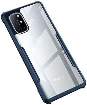 ACCESORIES LEGACY Polycarbonate Back Cover For OnePlus 8T ( Blue )