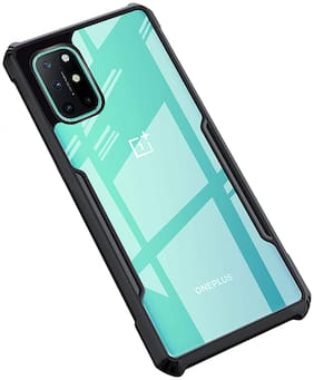 ACCESORIES LEGACY Polycarbonate Back Cover For OnePlus 8T ( Black )