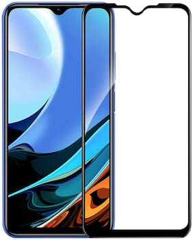 Accesories Legacy 11D Tempered Glass Screen Protector for Xiaomi Redmi 9 Power (Transparent) Edge to Edge Full Screen Coverage, Pack of 1
