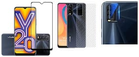 Vivo Y20 Front and Back Screen Guard By ACCESORIES LEGACY