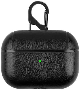 Accesories Legacy Apple Airpods Pro,Airpod Pro  Legacy Leather Skin Fit Hook Case Cover Compatible for Apple Airpods Pro,Airpod Pro (Black)