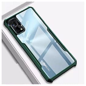 ACCESORIES LEGACY Polycarbonate Back Cover For Realme 7 Pro ( Green )