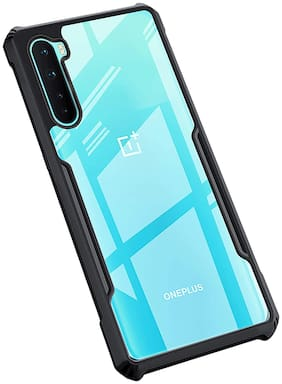 ACCESORIES LEGACY Polycarbonate Back Cover For OnePlus Nord ( Black )