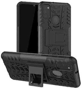 Accessories Kart Back Cover For Samsung Galaxy M31 (Black)