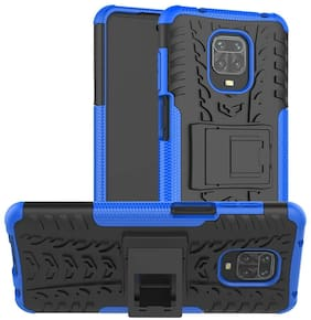 Redmi Note 9 Pro Max Polycarbonate Back Cover By Accessories Kart ( Blue )