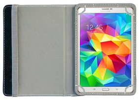 ACM Book Cover For Samsung Tab S 8.4 (Red & Grey)