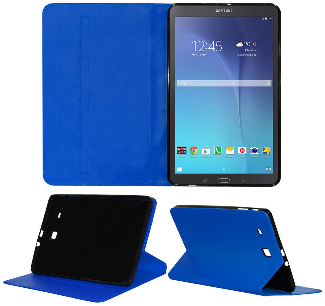 Acm Executive Case For Samsung Galaxy Tab E 9.6 T561 Tablet Cover Stand Blue