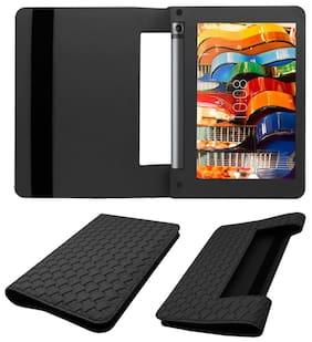 Acm Designer Executive Case For Lenovo Yoga Tab 3 8 Tablet Flip Cover Black