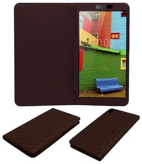 "Acm Designer Executive Case For Lenovo Phab 6.98"" Tablet Flip Cover Brown"