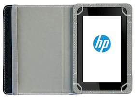 Acm Flip Cover For HP 7 Voice Tab (Dark Pink)