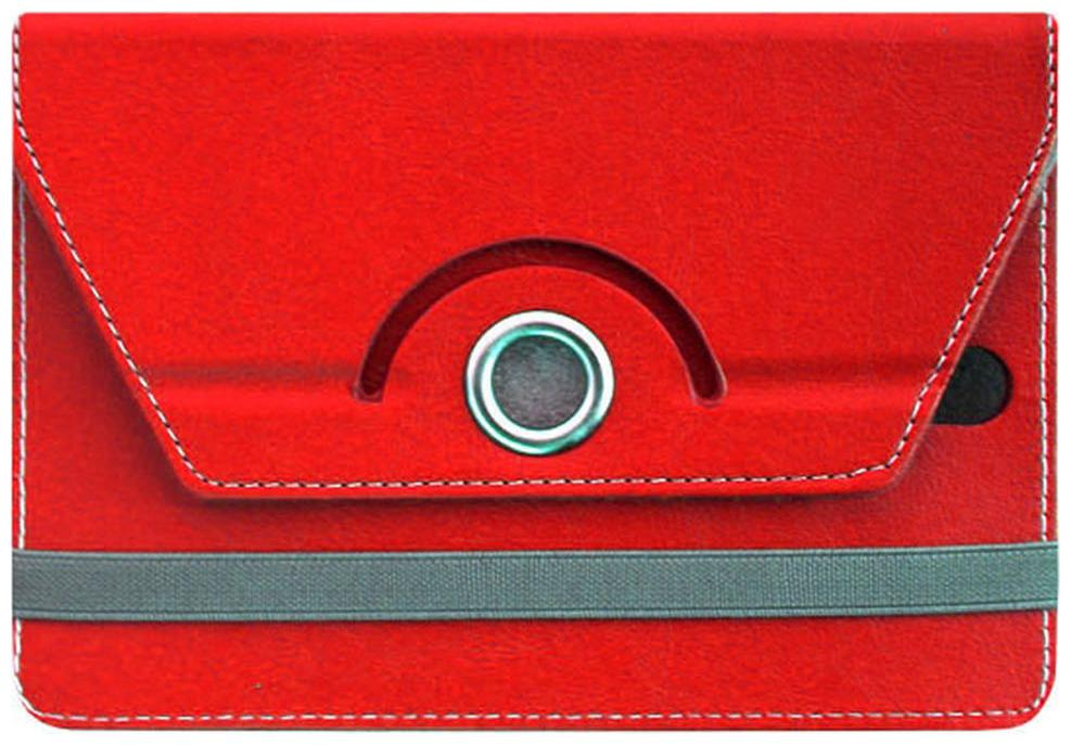 Acm Flip Cover For Apple Ipad Mini 2  Red